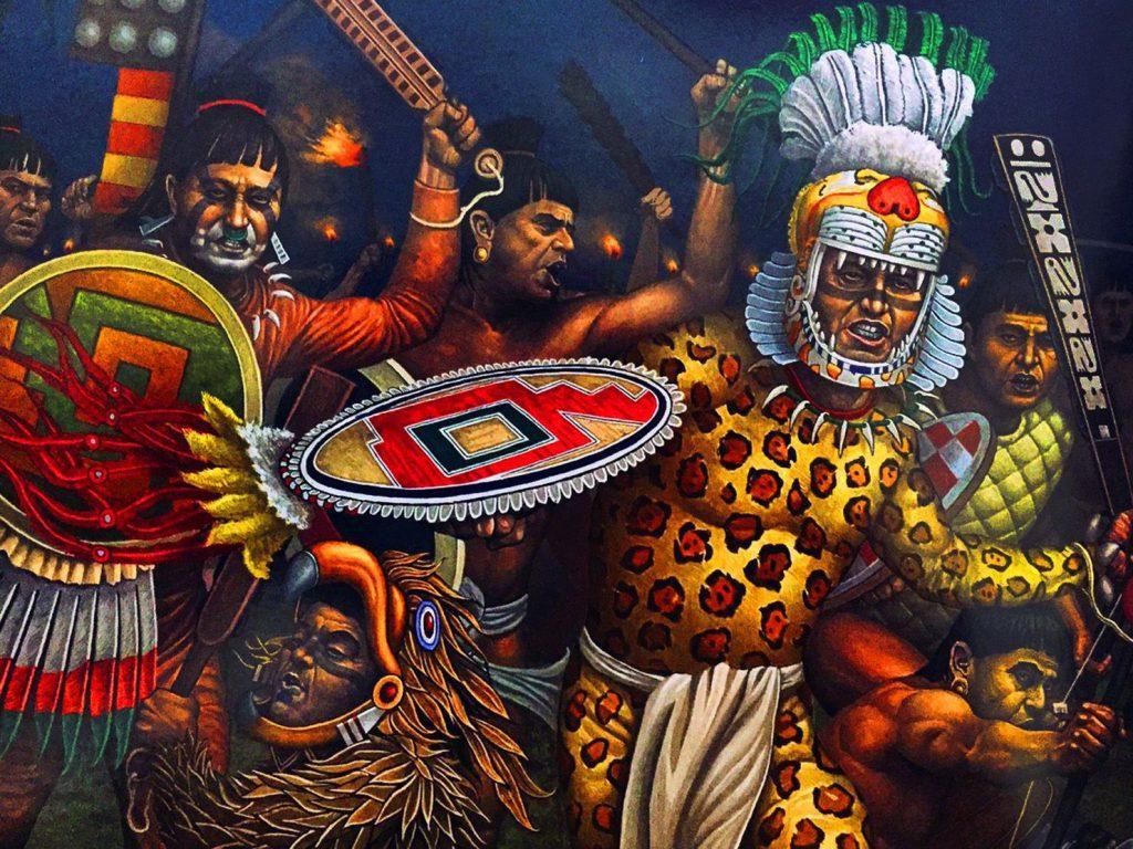 aztecas guerreros